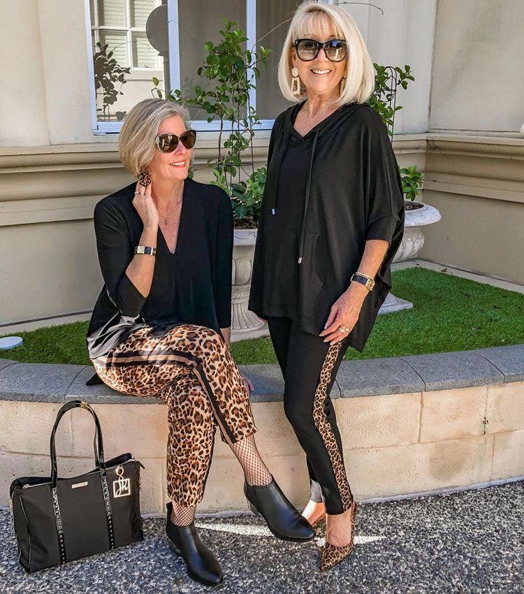 Ideas de outfits para señoras de 50 años o mas