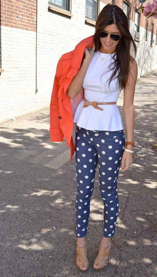 Outfits con pantalones estampados