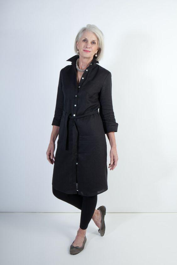 Outfits para señoras con sueters largos
