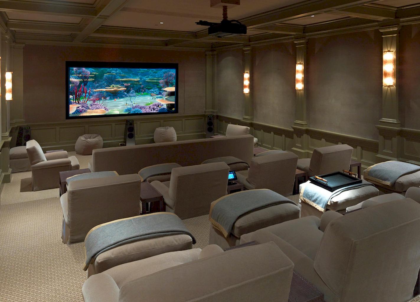 Sala de cine tipo teatro