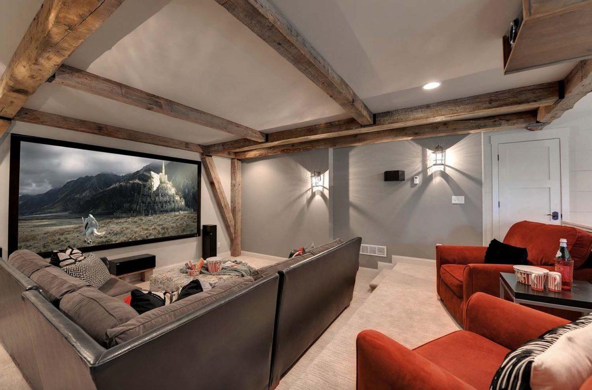 Cine en casa - como organizar y decorar