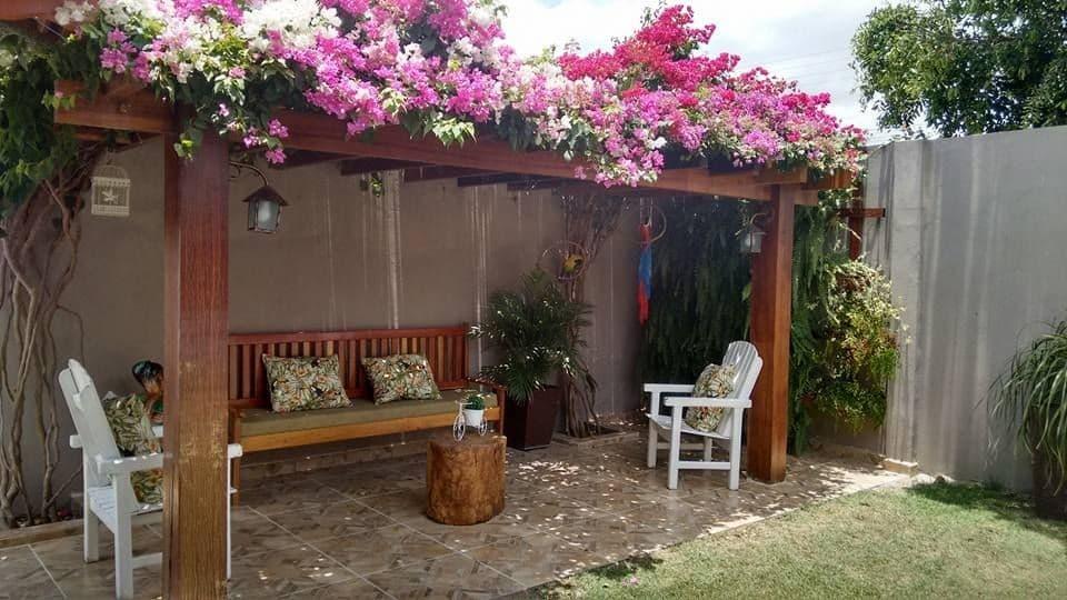 Cómo armar un espacio familiar en tu patio si es pequeño