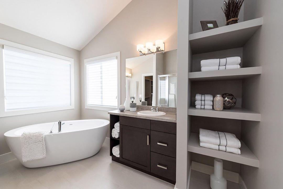 El baño ordenado con todo a la mano según Marie Kondo