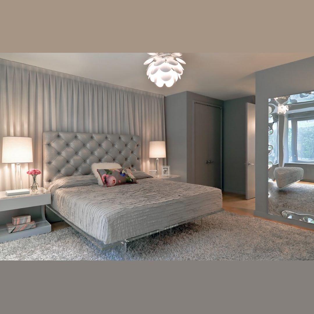 Como redecorar la habitación principal y que se vea moderna gastando muy poco - con espejos