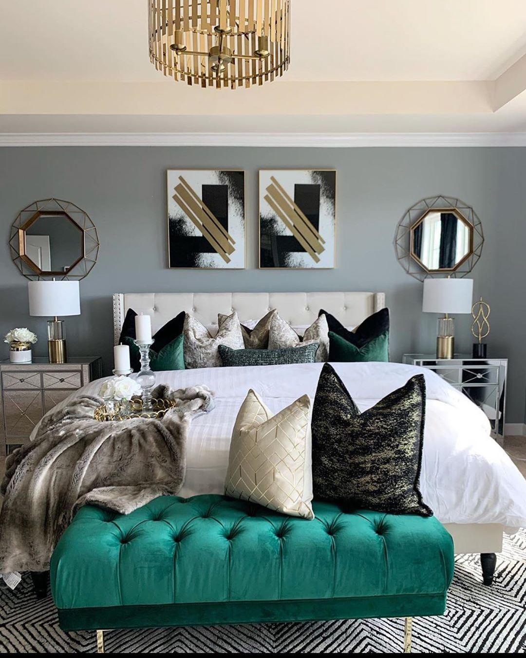 Como redecorar la habitación principal y que se vea moderna gastando muy poco