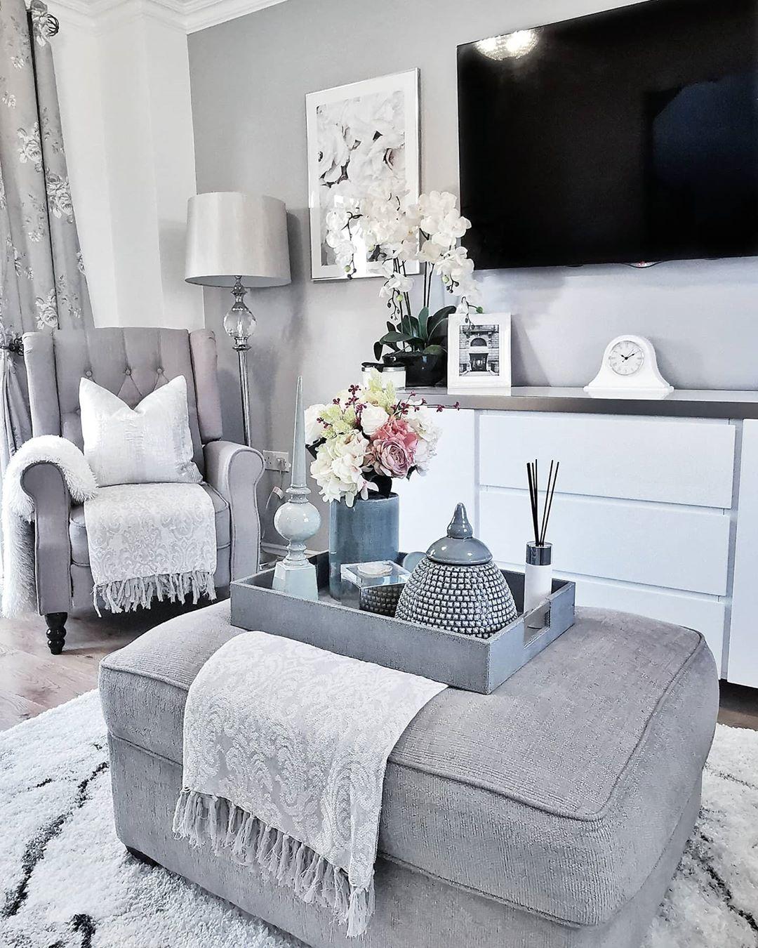 Ideas para decorar una sala pequeña en color gris