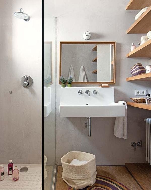 Inspiración para baños pequeños