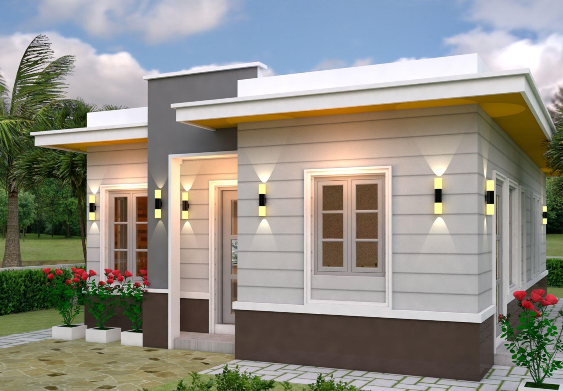 Planos para casas de 7 metros de frente