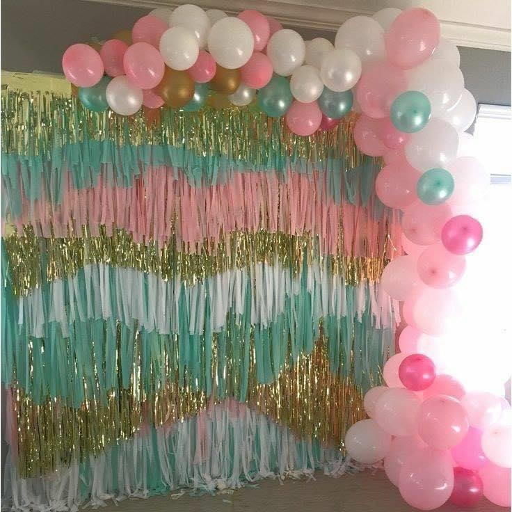 Backdrop cuadrado con globos