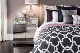 Combinación de colores para dormitorios de mujeres