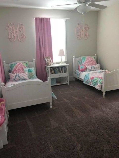 Habitaciones de niñas sencillas