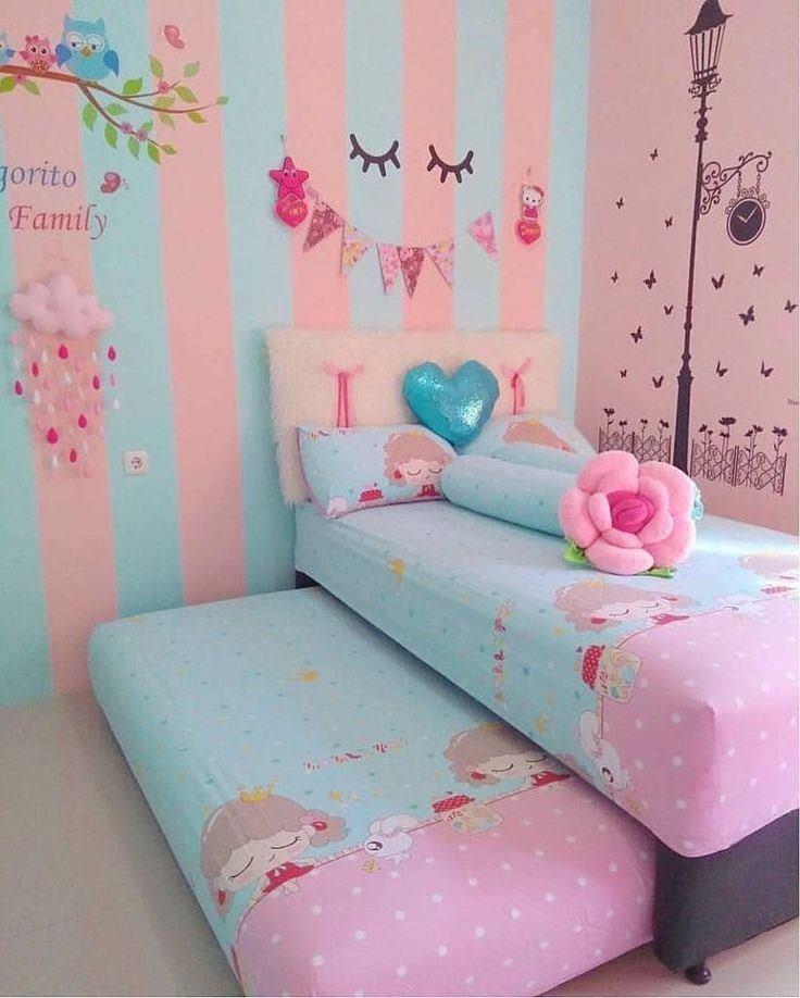 Ideas para pintar habitación de niñas