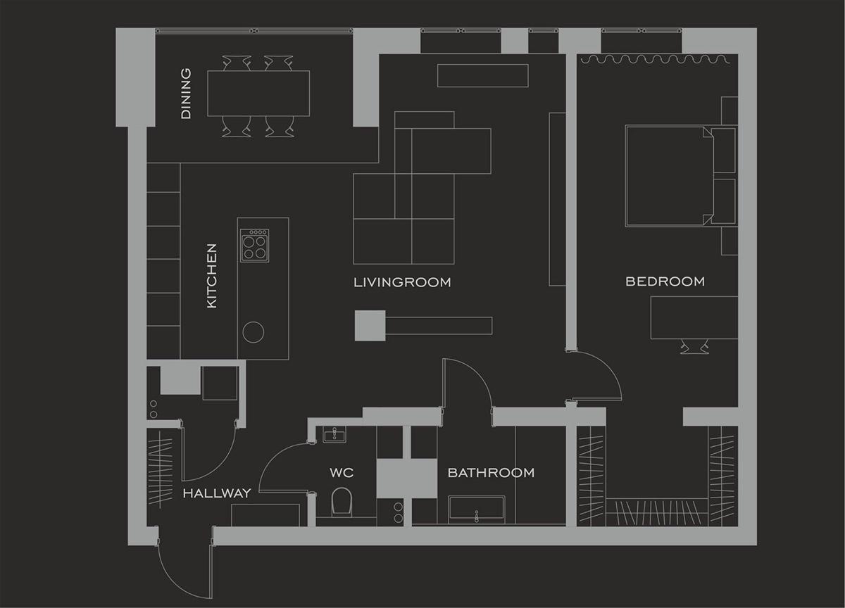 Planos de casas de 60 metros cuadrados