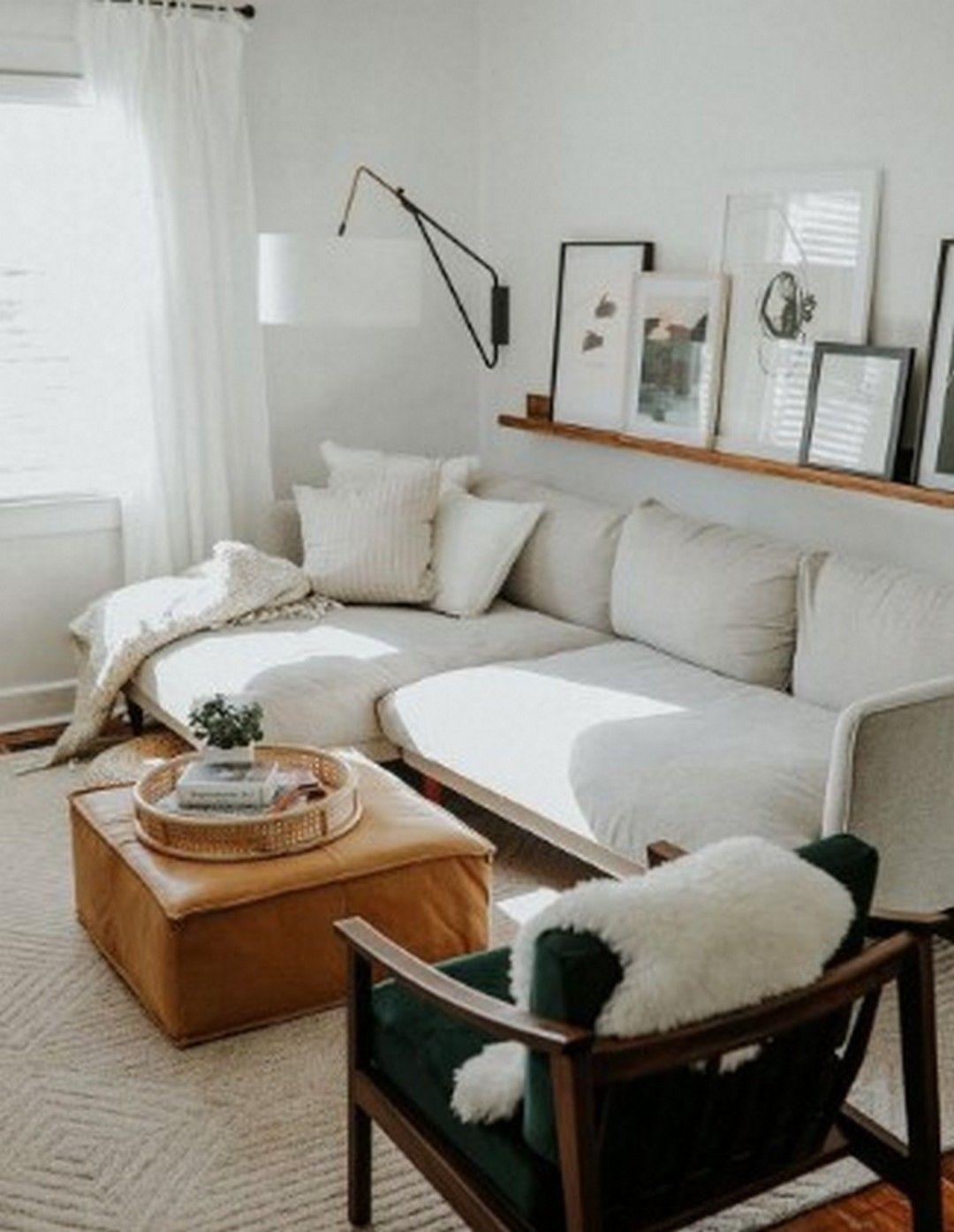 Salas modernas para espacios pequeños