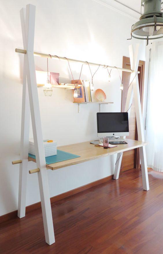 Escritorio DIY para espacio de trabajo