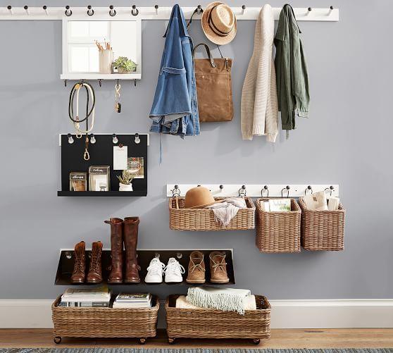 Ideas de armarios económicos para espacios reducidos con perchas