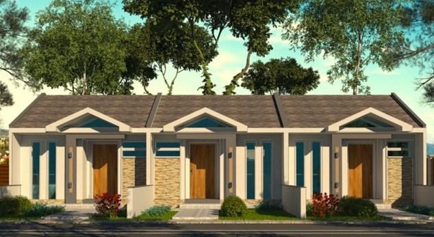 Modelos de casas de 5 metros de frente