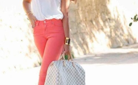 Outfits Color salmón – coral para la temporada