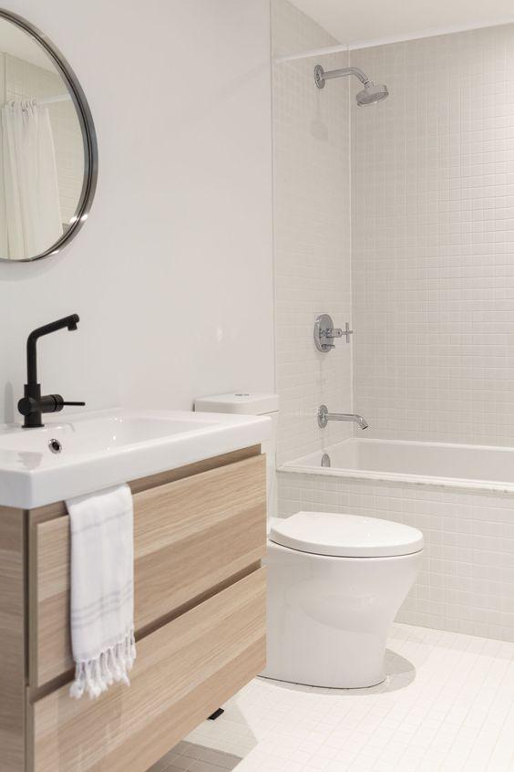 Baños con decoración minimalista