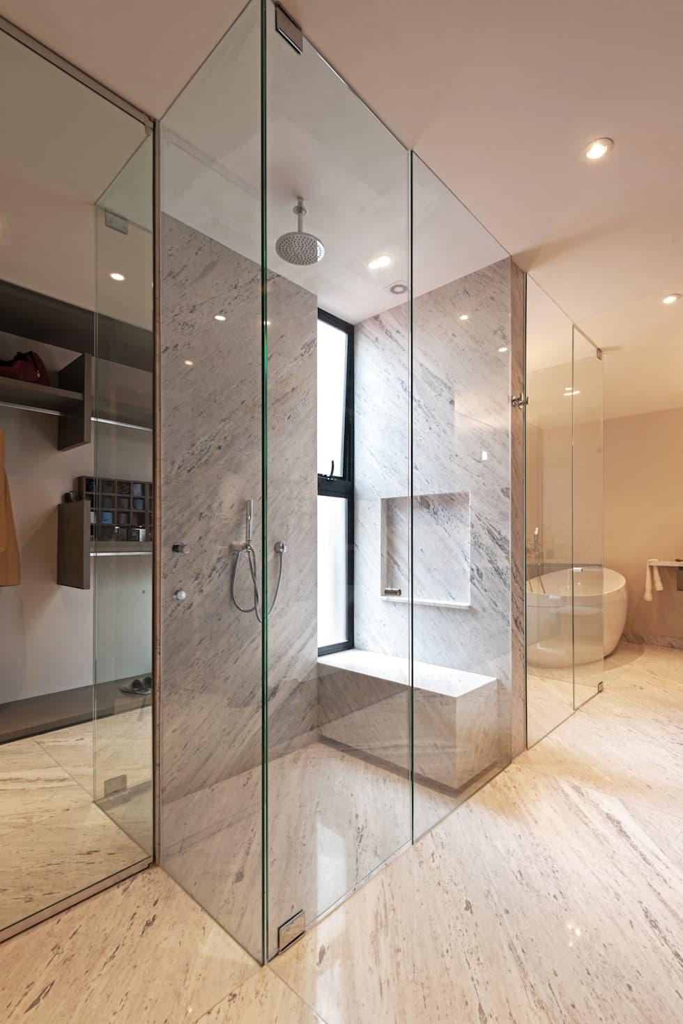 Baños con regadera modernos y fabulosos al centro