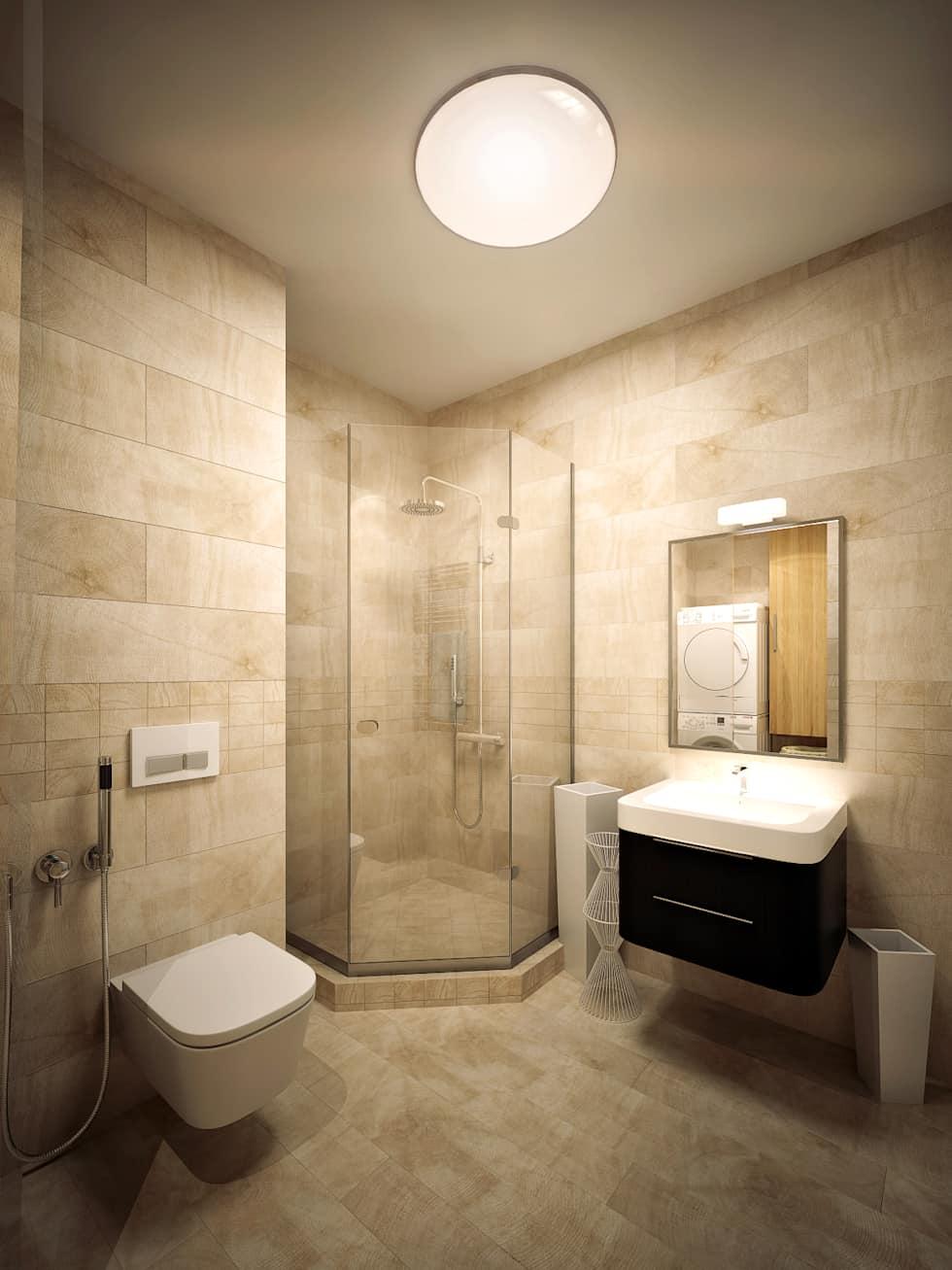 Baños con regadera modernos y fabulosos tradicional