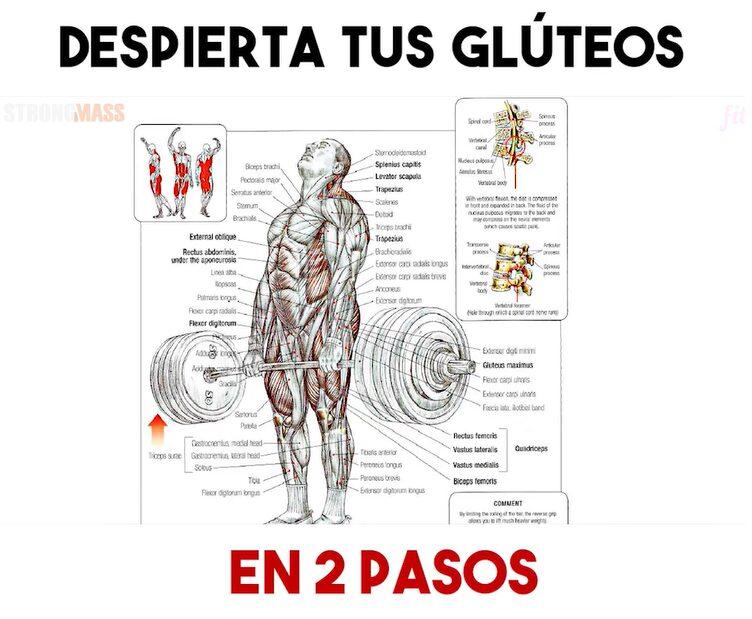 Despierta tus glúteos en 2 pasos ejercicios tradicionales