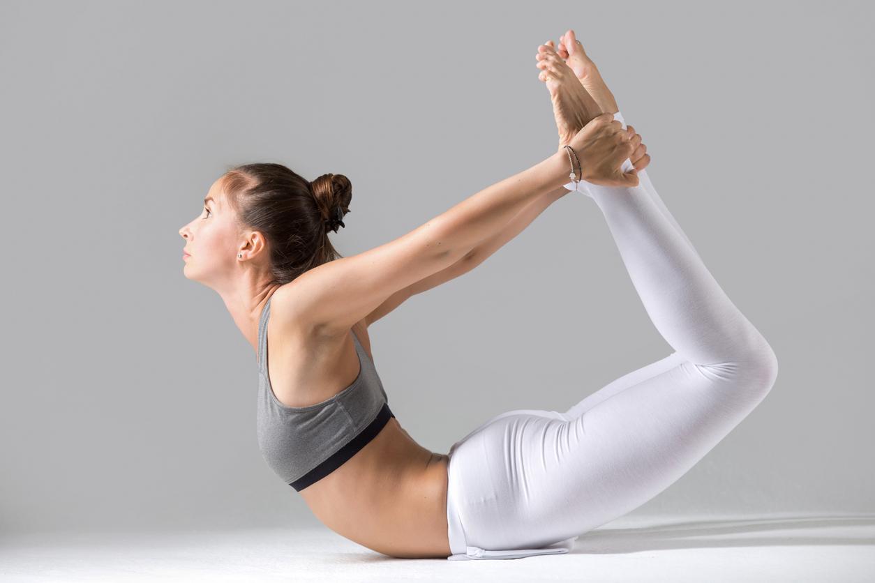 Ejercicios rápidos con postura de yoga