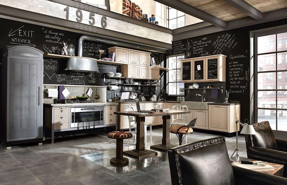 Ideas fabulosas para revestir las paredes de tu cocina con pintura de pizarrón