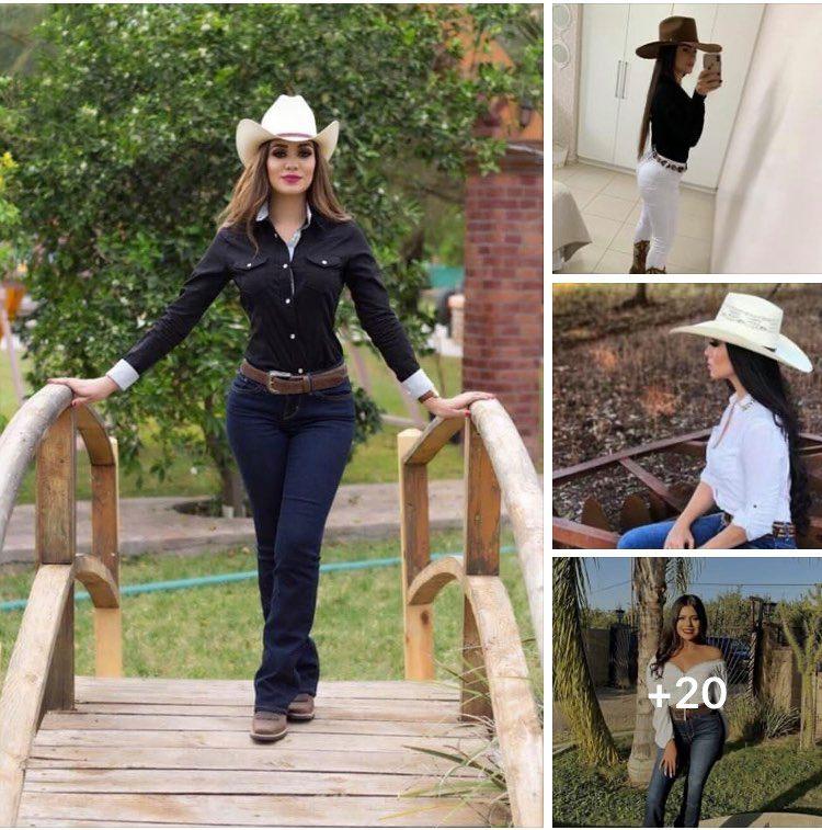 Looks vaqueros para mujeres