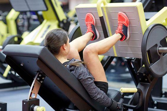 Los 5 mejores ejercicios para aumentar piernas rápidamente prensa para piernas
