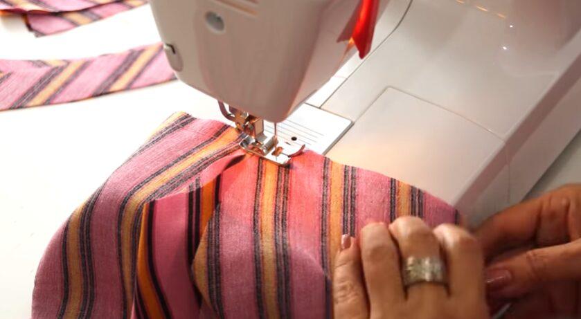 Patrón de blusa atada a la cintura coser