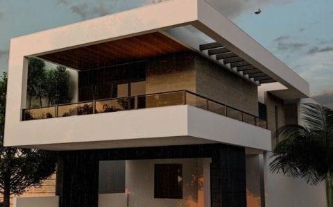 Proyecto para una residencia de estilo moderno contemporáneo