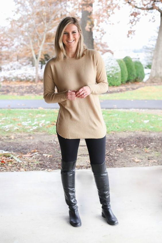Tips para verte bien instantáneamente con leggins o jeggins
