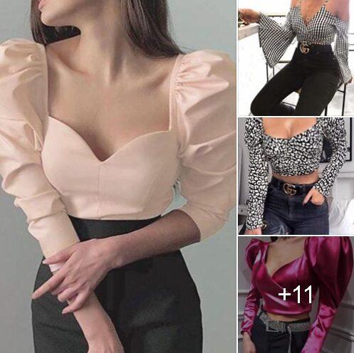 Blusas en tendencia