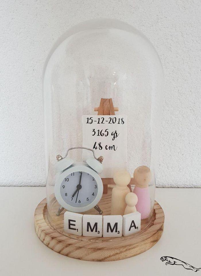 Detalle decorativo con los recuerdos de tu bebé