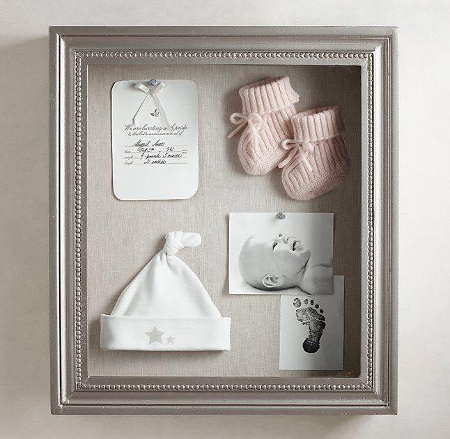 Ideas para guardar los recuerdos de tu bebé enmarcados