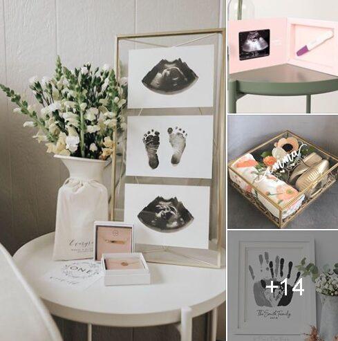 Ideas para guardar los recuerdos de tu bebé