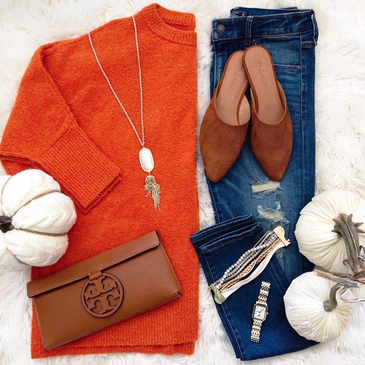 Inspiración para un outfit con color para el otoño