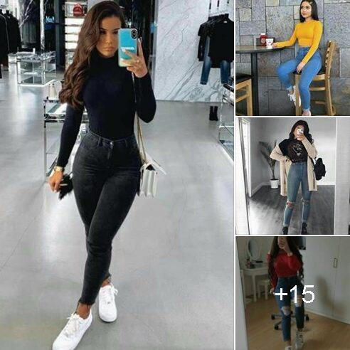 Outfits Con Jeans A La Cintura