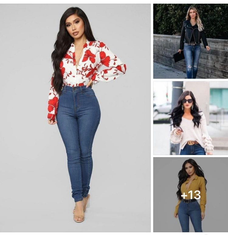 Outfits Con Jeans Lisos Para Mujeres Maduras Y Modernas Como Organizar La Casa