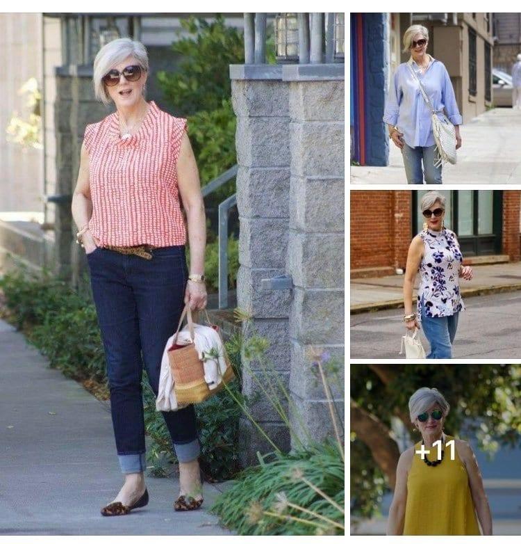Outfits para mujeres maduras modernos y con estilo