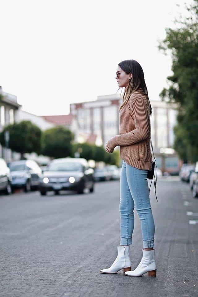 Suéter irregular para mujeres maduras en temporada frío