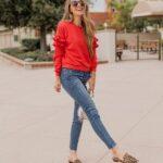 Cómo combinar el color rojo para outfit en temporada de otoño