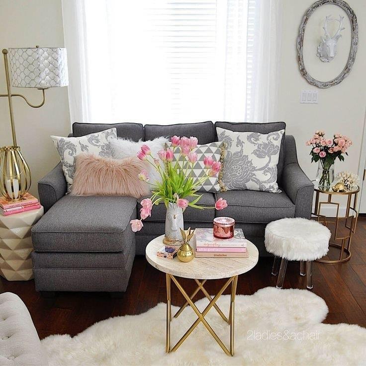 Decoración para salas pequeñas
