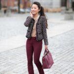 Moda para flaquitas en mujeres de 50 años