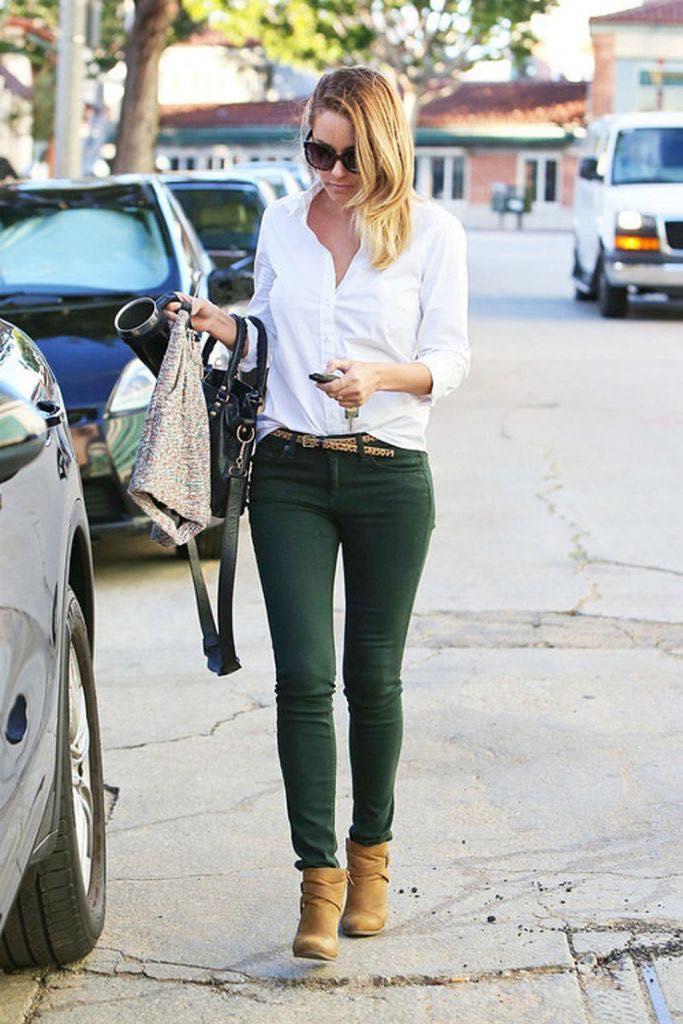 Outfits Casuales Con Pantalones Verde Militar 2 Como Organizar La Casa
