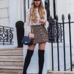 Ideas de outfits con tweed para mujeres maduras