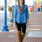 Outfits con leggins para mujeres mayores de 50 años