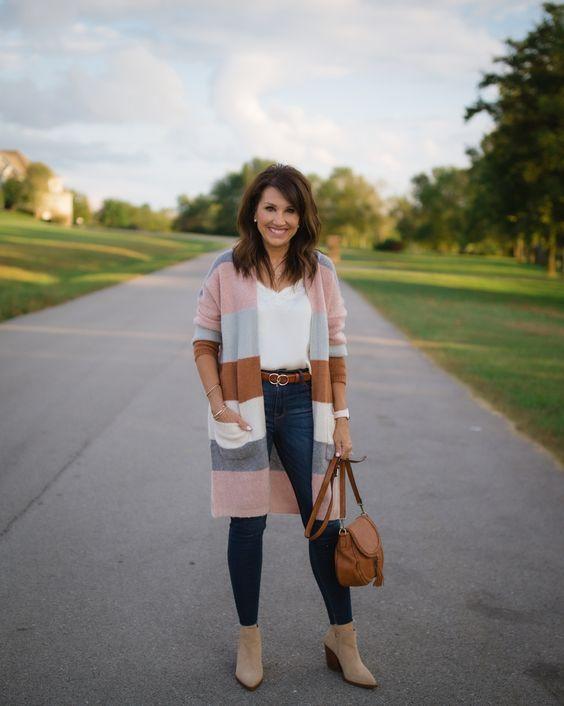 Outfits de invierno para señoras mayores de 40
