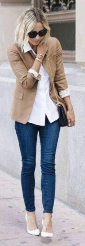 Cómo combinar blazers marrón